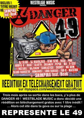 """""""DANGER 49"""" - 19 titres de pur Hip Hop indépendant en provenance directe du 4.9!!!"""