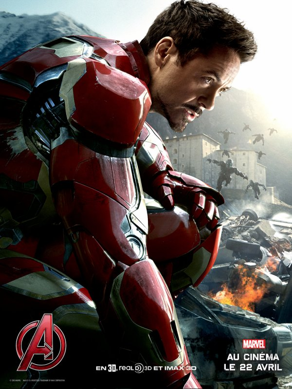 Avengers : L'ère d'Ultron - Les affiches des personnages