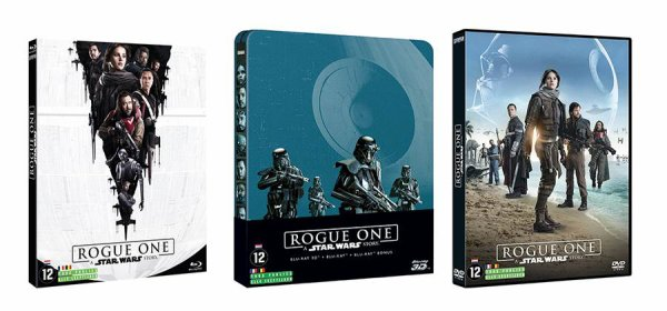 Star Wars Rogue One : bientôt dispo en Blu-ray et DVD !