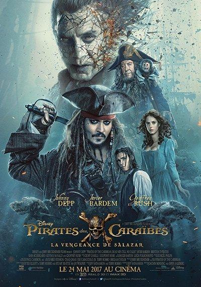 Une nouvelle affiche et une nouvelle bande annonce pour Pirates des Caraïbes 5 !