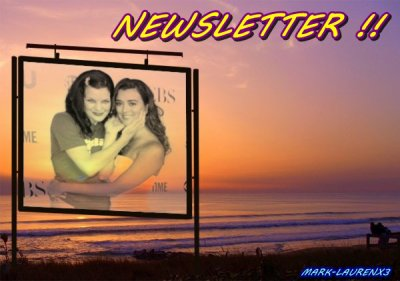 NEWSLETTER ; LES N0UVELLES FRAiCHES ♥