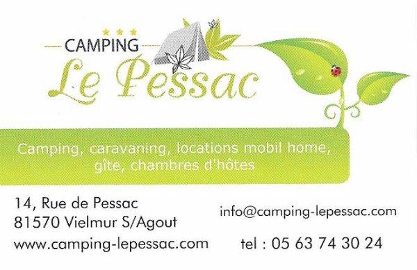 Location camping à Vielmur-sur-Agout - location Bengali entre Castres et Albi dans le Tarn - Camping le Pessac