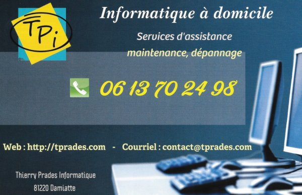 Thierry Prades Informatique