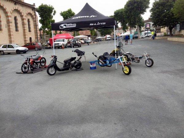 baptême  de kart  et expo de véhicules