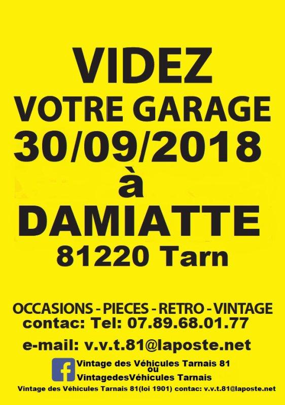 EXPOSITION-BOURSE VINTAGE DES VÉHICULES TARNAIS 81
