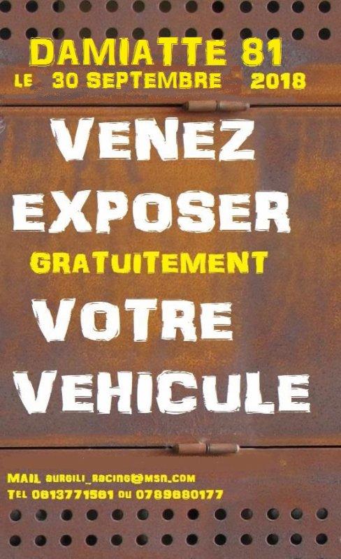 Expo Bourse DAMIATTE 81220