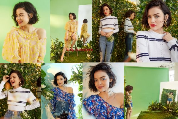 voici un nouveau photoshoot de lucy pour for bustle by ashley batz 2017