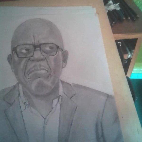 Drawing art portrait😛