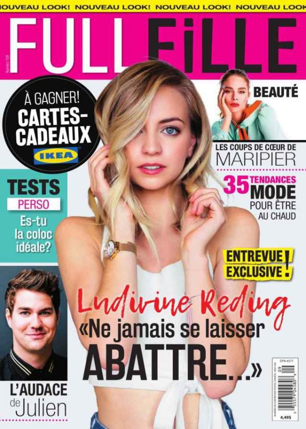 ludivine-reding magazines couvertures