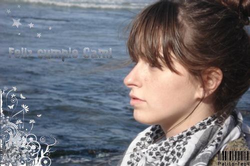 Feliz Cumple Camila , elle a 21 ans maintenant