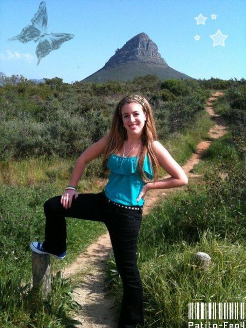 Nouvelle photo de Laura en Afrique