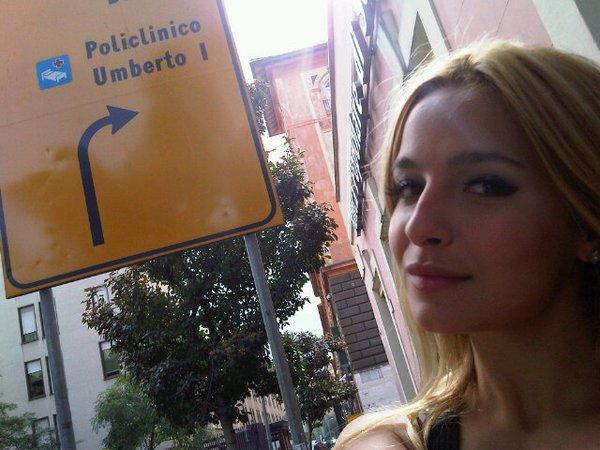 Brenda a Rome