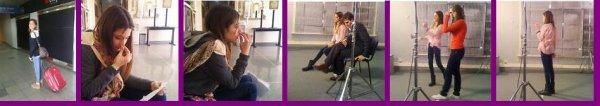 """Photo esclusives du premier casting de """"violetta"""""""