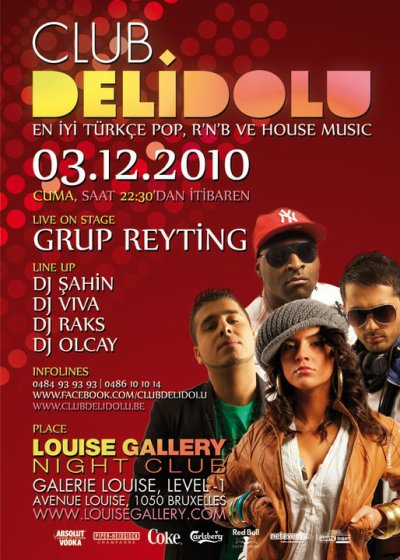 Flash News: Dont miss Reyting Live show case December 03rd @ Louise Gallery Event Hall (Brussels)