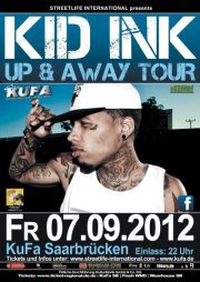Brace Yaself September 07Th Kid Ink Live showcase @ Kufa Saarbrücken (Germany)