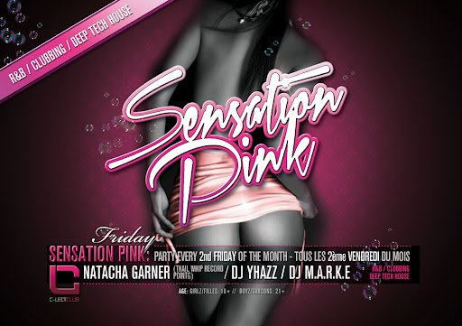 September 14th sensation Pink @ C-Lect Club (Jemeppe-sur-sambre)