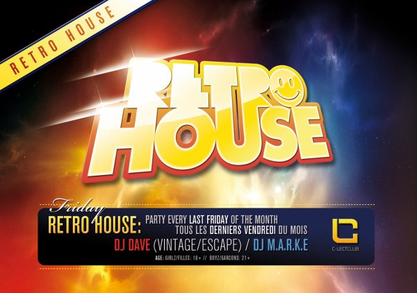 Retro House Party Season Opening @ Clect Club