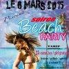 soirée beach party !!!!! le 6 mars