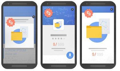 Google veut tuer la pub pleine page sur mobile