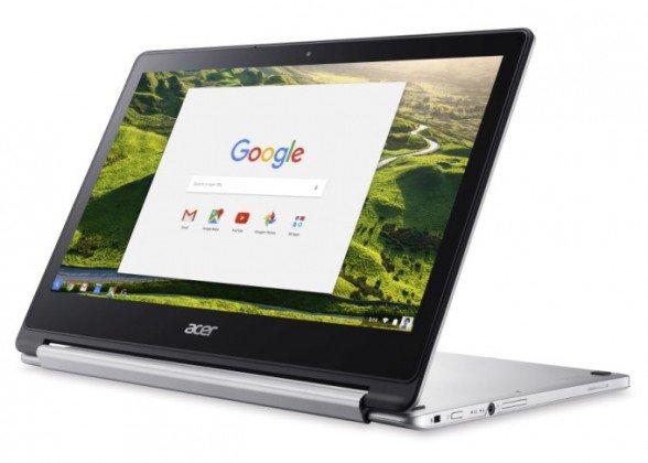 Le Chromebook R 13 d'Acer est aussi une tablette