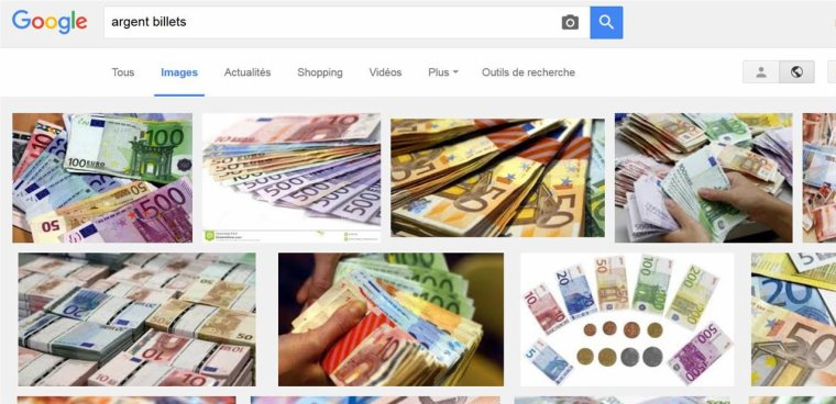 « Taxe » sur les moteurs de recherche d'images : ça se précise