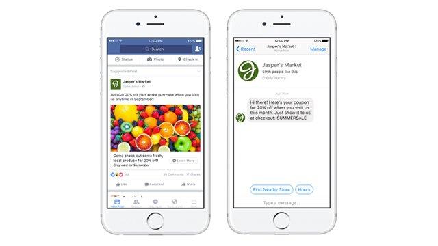 Facebook Messenger se met à jour avec toujours plus de bots