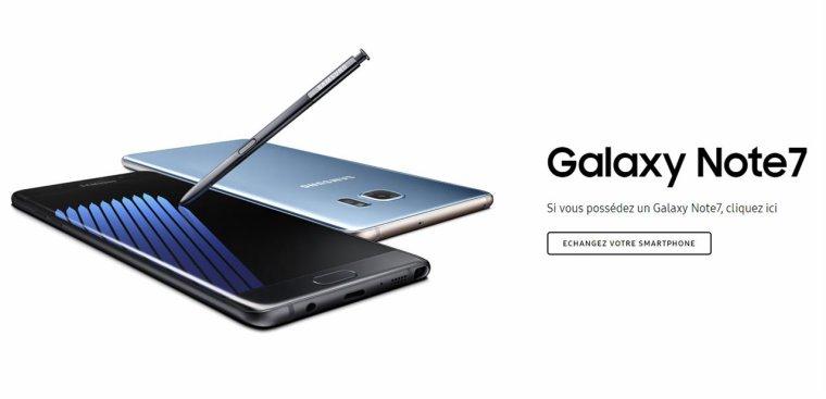 Samsung explique comment identifier son « nouveau » Galaxy Note7