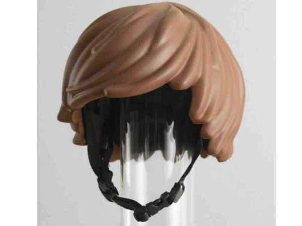 Ce casque de vélo donne une bonne tête de LEGO