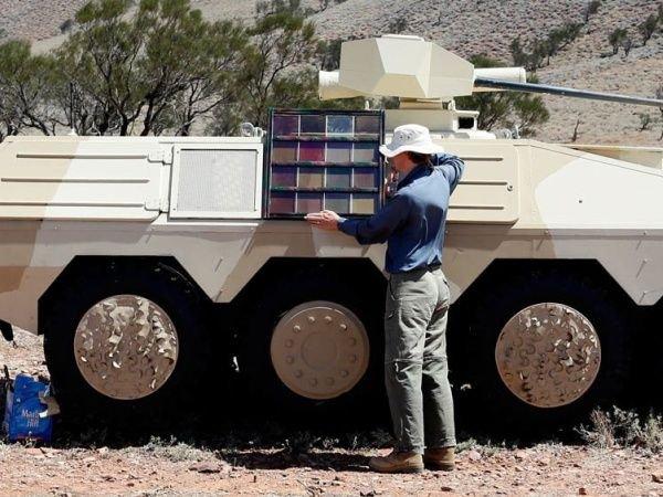 Et voici le tank caméléon