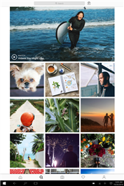 Instagram lance une application pour PC et tablettes Windows 10