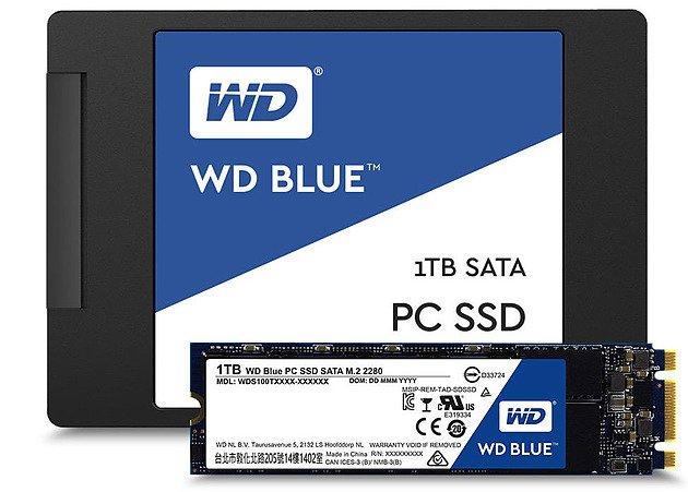 Western Digital lance ses SSD WD Blue/Green