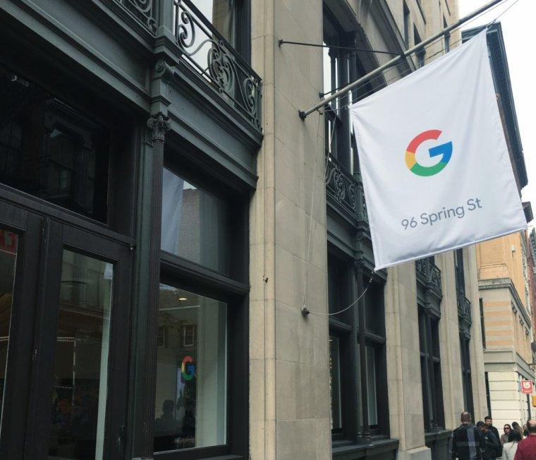 Google ouvre une première boutique pour vendre ses Pixel