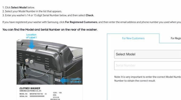 """Samsung victime du """"syndrome Note 7"""" sur ses lave-linge ?"""