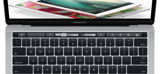Samsung serait derrière l'écran de la Touch Bar d'Apple