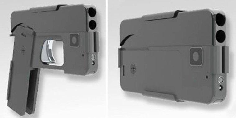 """L'inquiétant """"iPhone gun"""" débarque en Belgique: le téléphone portable qui tue"""