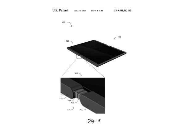Microsoft, un brevet pour un smartphone qui se déplie en tablette