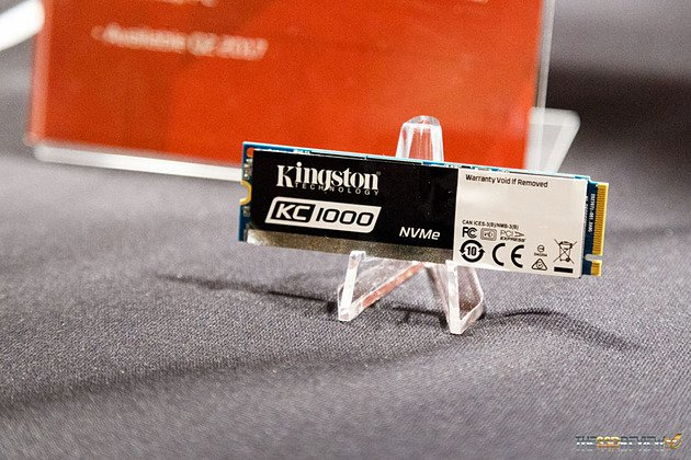 Kingston aura aussi son SSD PCIe NVme