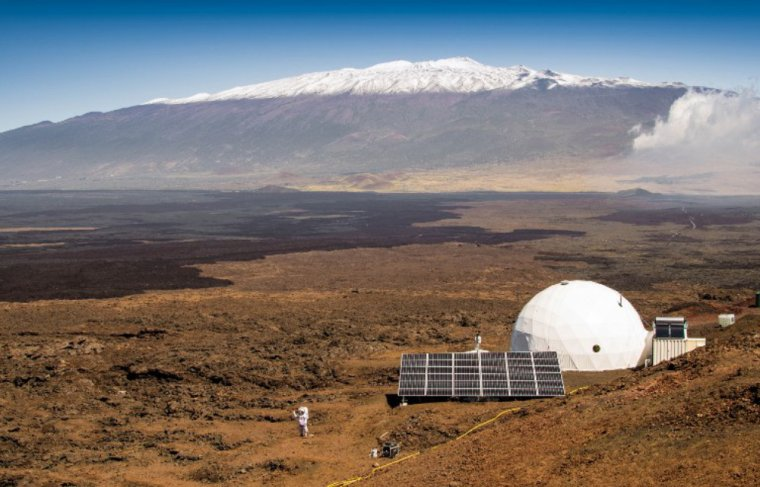 Des chercheur se préparent pour une simulation de vie sur Mars