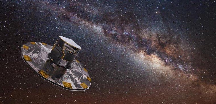 Gaia : le satellite chargé de cartographier notre galaxie détecte un nouvel astéroïde