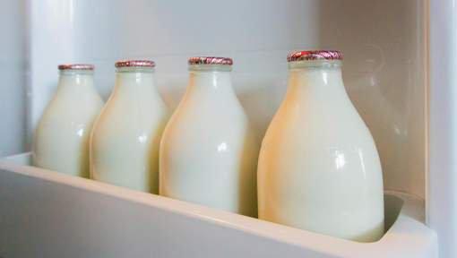 Pourquoi le lait ne se range pas dans la porte du frigo