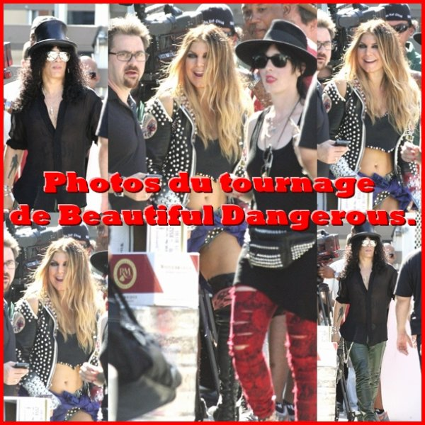 Un clip pour 'Beautiful Dangerous'  ?