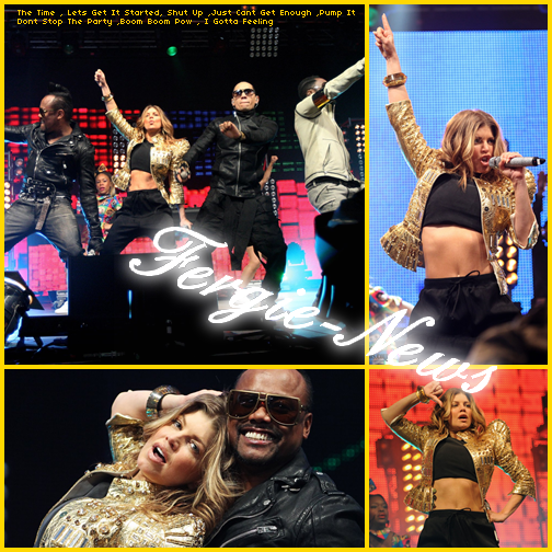 Black Eyed Peas sur BBC Radio 1 du Big Weekend '