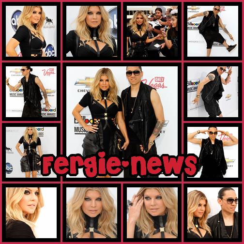 Les Black eyed peas au Billboard Music Award Hier (22) qui c'est passé a LAS VEGAS, Peu de temp apres le tapis BLANC est lancé es seulement Fergie et Taboo y ont assister