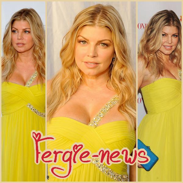 """Fergie est honoré au FiFi Awards , Le (25/05/11), a eu lieu à New York, l'événement annuel de parfums et de parfums, les prix de FiFi. Il s'agit d'un événement considéré comme les « Oscars de le parfums » et Fergie a été l'un de la nuit honorée avec son premier parfum, « Franc ». Fergie a remporté le prix de """"Nouvelle Fragrance célébrités de l'année"""""""