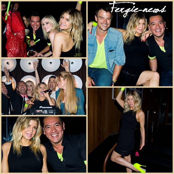 Fergie a célébré l' anniversaire de 40 années de son meilleur ami, Sean Patterson , hier soir à New York . Sean, qui est président de Wilhelmina Models agent et meilleur ami de Fergie, il dit que le deuxième homme dans le monde a aimé la chanteuse, d'autre part que pour Josh Duhamel.