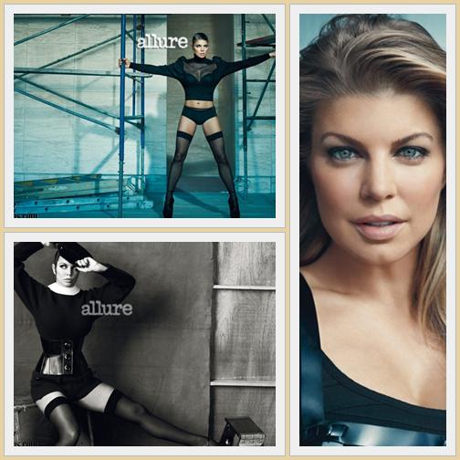 Fergie est la couverture du Juillet 2011 Allure Magazine , où elle parle de sa vie personnelle, professionnelle, le corps et apprendre à s'aimer.