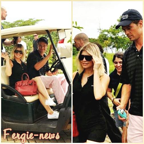 Fergie et son mari ( Josh duhamel ) au Costa Rica