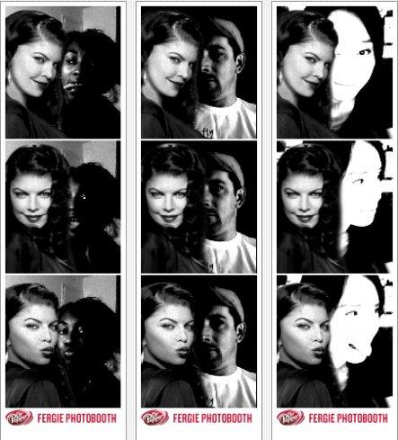 Vous voulez prendre une photos avec Fergie ?! C'est par ici que sa s'passe ! :)