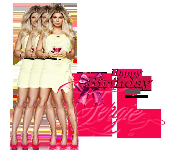 Joyeux Anniversaire Fergie ! <3 37 ans déja :)