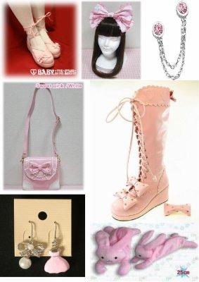 Les Sweet Lolitas : Chaussures et accessoires